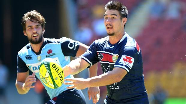 Jackson Garden-Bachop to start at first five in Super Rugby debut for Rebels