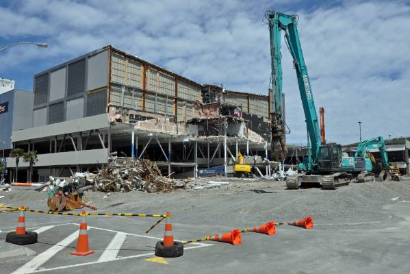 Event Cinema complex and 300-space car park, Queensgate Mall, Lower Hutt, 17/01/2017