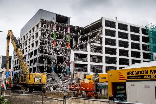 Reading Cinema carpark building, 07/01/2017.