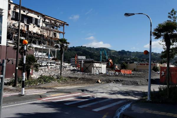 Event Cinema complex and 300-space car park, Queensgate Mall, Lower Hutt, 21/02/2017.