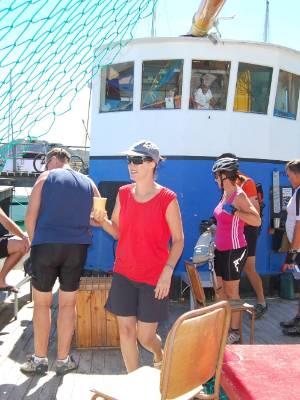 Jacques Cousteau's Espressoship at Tarakohe.