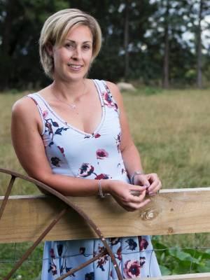 09022017 News Photo: DOMINICO ZAPATA News: Amanda Ratuki from The Village Farm Shop in Whatawhata, Waikato. ...