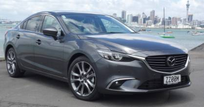 Mazda6 is a class act on the road. But like so many diesel cars in NZ, it's not as clean as the same model in Europe.