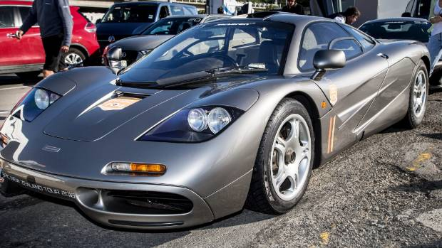 The Crash Is The Second Of A McLaren In NZ In Less Than Six Months,