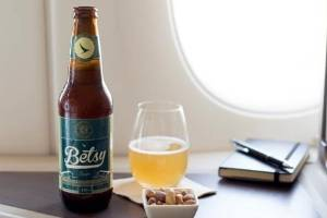 The first beer brewed just for flying high.