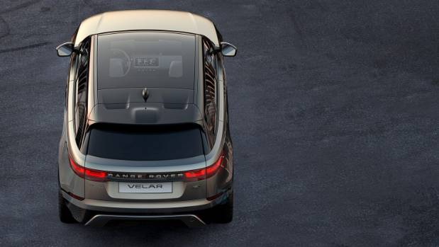 A new Range Rover on the way