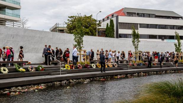 Christchurch's earthquake legacy enters new age with memorial unveiling
