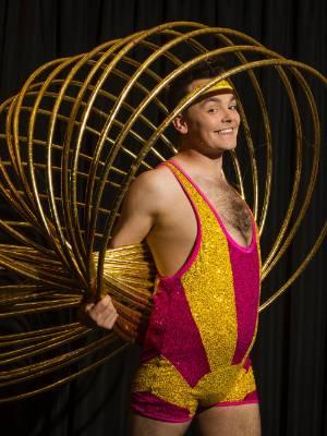 Craig Reid, aka Hula Boy, is in New Plymouth to give people a taste of Velvet.