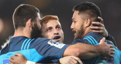The Blues have the best record of all New Zealand Super Rugby sides in season-opening matches - just.