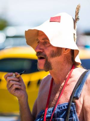 Willy Marshall, or Hillbilly Willy, of Salt Lake City has travelled to New Zealand just for the classic car event. He ...