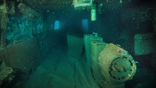 Earthquake creates new dive chances on sunken Soviet ship Mikhail Lermontov - Waikato Times