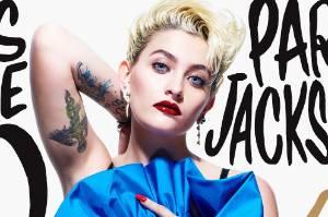 Paris Jackson's first cover.
