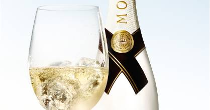 Pro tip: while Moet Ice has fruity overtones anyway, adding extra summer fruits, mint, and/or ginger is jolly nice.