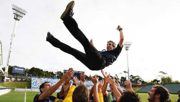 Auckland City celebrated hard after beating Team Wellington in last year's OFC Champions League final.