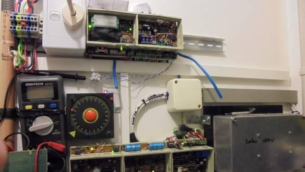 Norbert Reiser's home-built controller system.