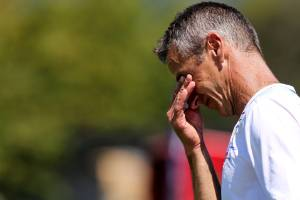 A three-week break is untimely for Tasman United's players but not for coach Davor Tavich, who is attending a 12-day ...