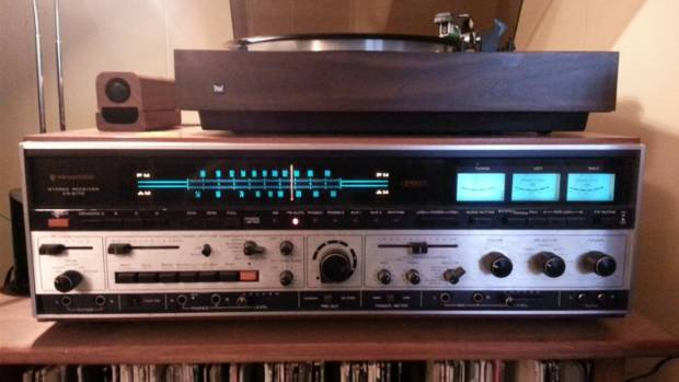 "The Kenwood KR-6170 ""Jumbo Jet"" stereo receiver is considered a classic."