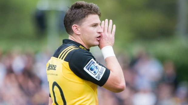 Hurricanes first five-eighth Beauden Barrett is the 2016 winner of the World Rugby Player of the Year Award.