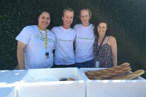 Volunteers from the Hastings Nourished for Nil team.