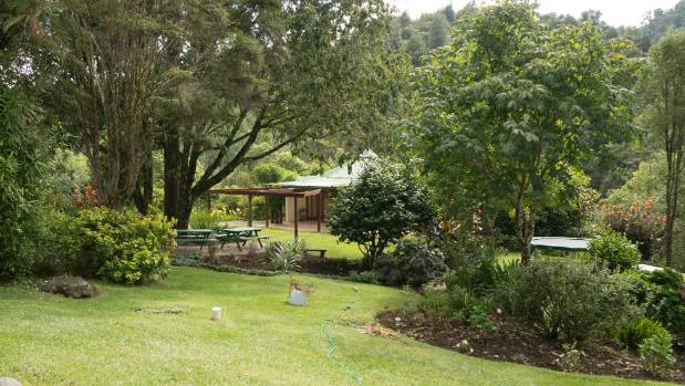 The grounds of the Waitetuna Retreat Centre, Raglan, which a company Vallyon formerly directed purchased for $150,000 in ...