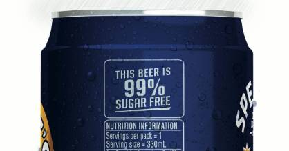 As of Friday, you'll start seeing nutritional labels on beer.