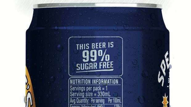 You'll start seeing nutritional labels on beer.