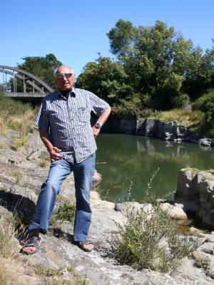 Hokonui Runanga elder Rewi Anglem wants his grandchildren to be able to swim in the Mataura River.