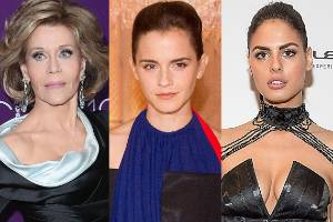 Jane Fonda shows us how it's done this week while Emma Watson has an almost-hit and model Bo Krsmanovic has a big miss.