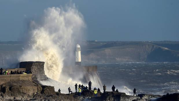 Woman Killed By Flying Debris As Storm Doris Batters UK ...
