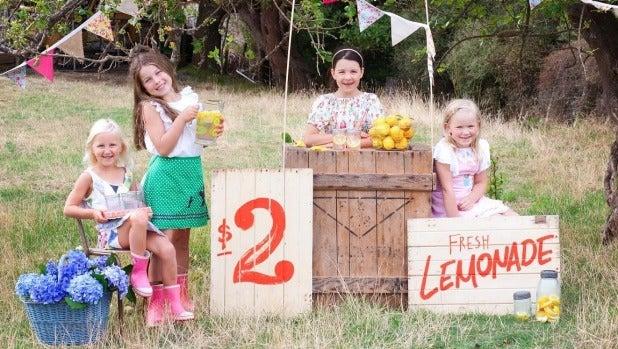 Kids enjoy Pukerua Bay School's Village Fair last year. [FILE PHOTO]