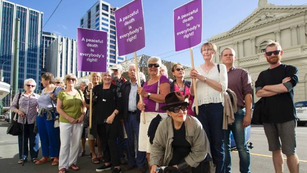 The original Dominion Post photo of supporters of Susan Austen outside the Wellington District Court used by the bogus ...