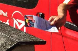 Picton rural delivery contractor Dennis Wye will have less mail to deliver on Saturday from April 1.