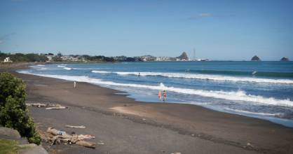 Fitzroy Beach may be one of the most popular in New Plymouth, but the rest of the world hasn't realised how awesome it ...