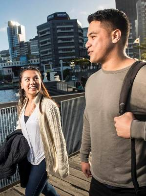 Margaret Ortega, left, from Hong Kong, says she loves Wellington because it's big enough that you are never bored, but ...