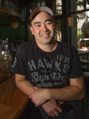Dragonfly co-owner Brent Wong is excited the cordons on Courtenay Place have been lifted, allowing them to open in early ...