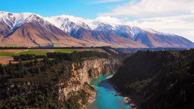 This photo was taken in August during a walk along the Rakaia Gorge walkway with my Aunty, Mary Wise. I have lived ...