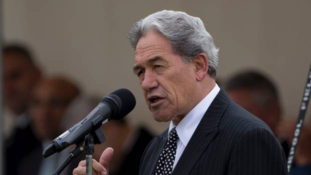 "NZ First leader Winston Peters says taxpayers are being ""bled dry"" by National's open door policy on immigration."