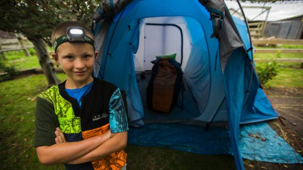 Jonty Skermanu0027s tent gets pimped.  sc 1 st  Stuff.co.nz & First Jonty Skermanu0027s tent was upgraded now itu0027s been pimped out ...