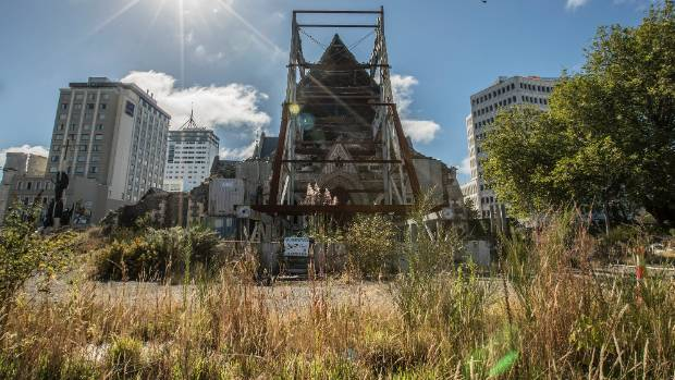 The ChristChurch Cathedral has been sitting derelict in the city centre for six years.