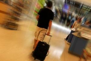 The man was allegedly trying to bring five kilos of cocaine through Melbourne Airport.