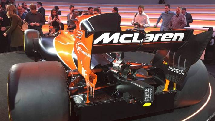 Mclaren Go Back To The Future With Orange And Black Formula One Car