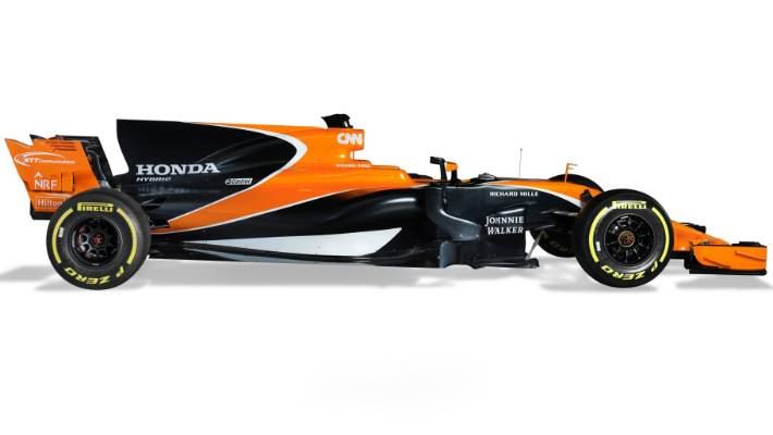 Mclaren Unveil Their New Formula One Car For The 2017 Season Mcl32