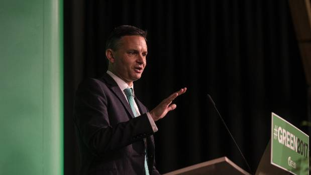 "James Shaw: ""We have been trying to find a way to dampen the heat around the immigration debate, because it is turning ..."