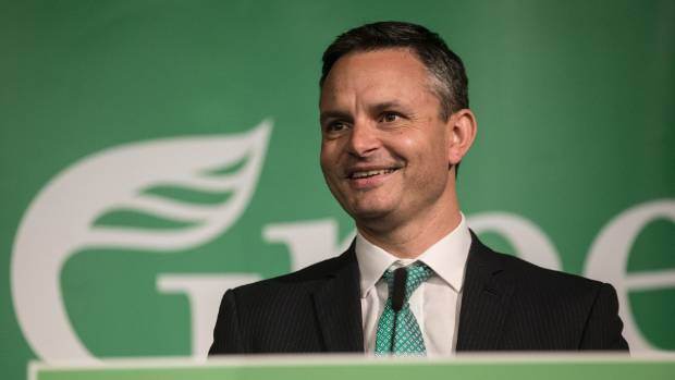 """Green Party co-leader James Shaw: """"We would absolutely not force an early election. We are committed to changing the ..."""
