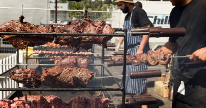 There were plenty of people attending the innaugural Meatstock festival in Auckland over the weekend of Feb 25, 2017. ...