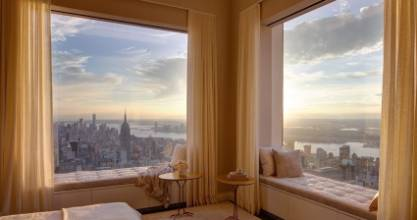 Penthouses in Manhattan often fetch vast sums. The full-floor condo at the top of Vinoly's tower reportedly closed for ...