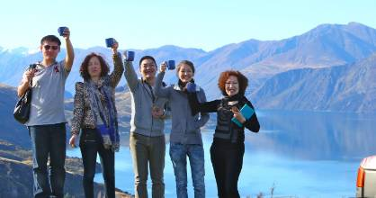 Year of the Rooster celebrations boosted tourism growth from China.