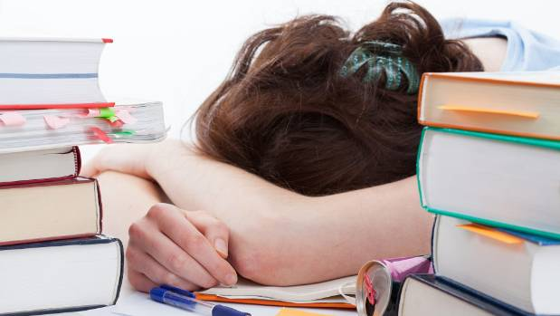 Teens often struggle to get the amount of sleep they need.