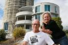 Rob Galloway and Marie de Jong have moved out of the silo apartments in Raglan, and are living on their yacht in the ...
