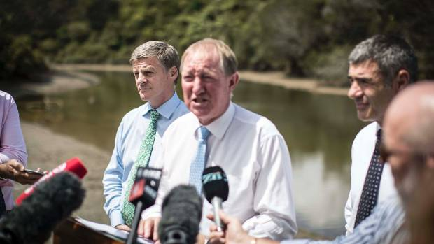 Environment Minister Nick Smith said smaller creeks were in the policy. However, they did not require being monitored, ...
